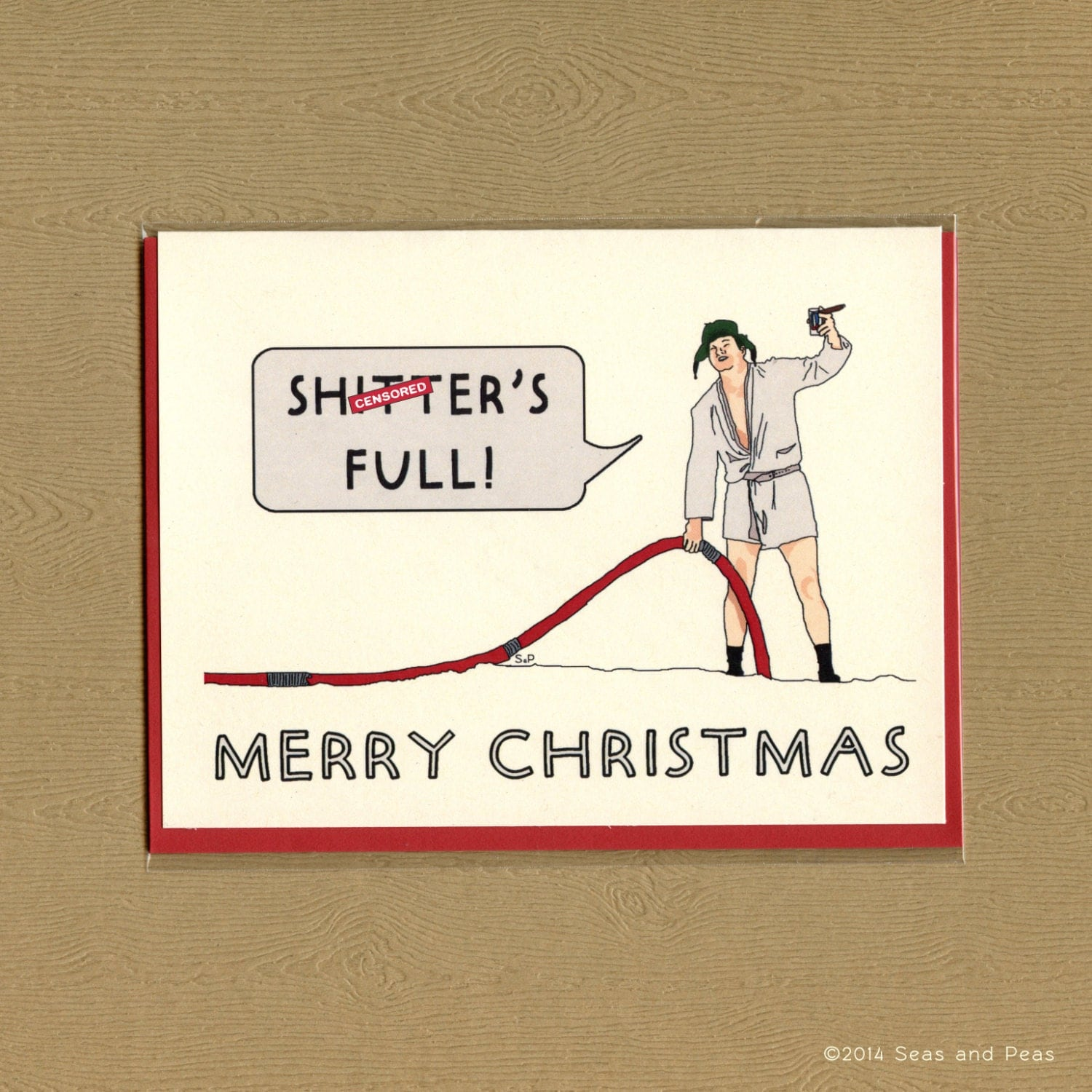 National Lampoon Christmas Vacation Christmas Cards - My Shopping on ...