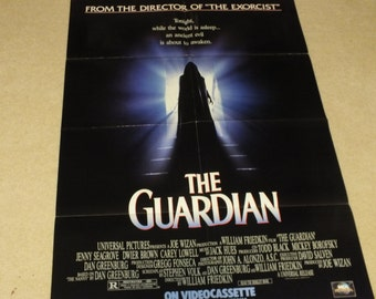 The Guardian, A Vintage Movie Poster, starring Jenny Seagrove, Dwier Brown and Carey Lowell