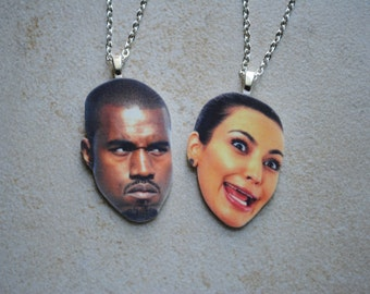 Kim and Kanye Necklace Set