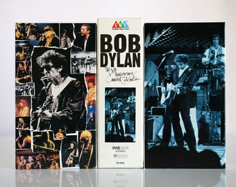 PRICE DROP Rare Bob Dylan 30th Anniversary Concert VHS 2 Tape Set