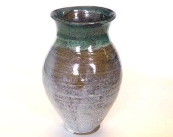 Sand and Woodgrain Vase
