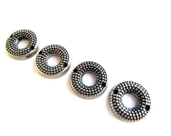 Bumpy Metal Links / Connector Beads/2 Hole Connector