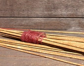 Incense Sticks - Rose Geranium Scented - Hand-dipped Incense - Vegan - Eco Friendly - Stick Incense