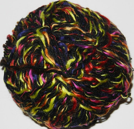Novelty Yarn : Stretch Elastic Novelty Yarn with multi thread by JuliaLCraft