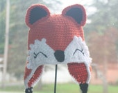 Fox hat  Made to Order Crochet