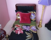 1:6 Barbie Bed