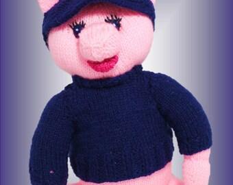 Angel Bear Knitting Pattern : Angel Bear a unique knitting pattern by by LynneColesCreations