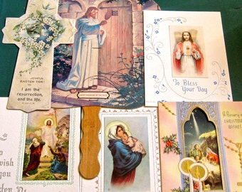 Take 20% Off Lovely Vintage Religious Card & Church Fan Collection