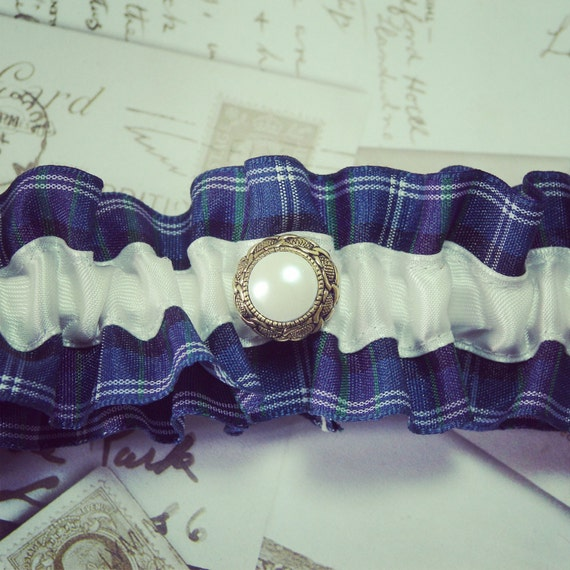 Tartan Garter Scottish Garter Highland Wedding By