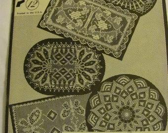 Lovely 1964 Vintage Crochet Book Volume 12. Designs by Elizabeth Hiddleson