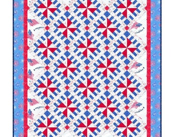 Veterans Quilt With Jets Pdf Pattern Tutorial 2 Sizes