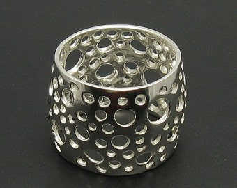 R000663 STERLING SILVER  Ring Band Solid 925 New