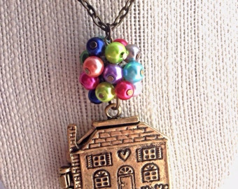 Up Necklace, Disney Inspired Necklace or Purse Charm