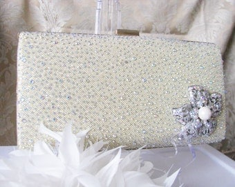 purses, bridal clutches, bride bridesmaid, formal, wedding, bridal hand bag, swarovski crystal, bridal purse, wedding clutch, bridal handbag