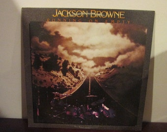 Jackson Browne Running on Empty Collectible Vinyl Record VG to EX Condition