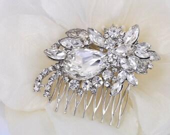 Wendy-Vintage Style Rhinestone Bridal Comb
