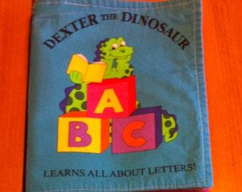 ABC Soft Book-Dexter the Dinosaur!