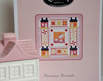 Applique Quilt Pattern Between Friends