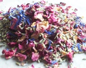 Hand mixed real petal confetti - cornflower mix - 1Kg (2lb)