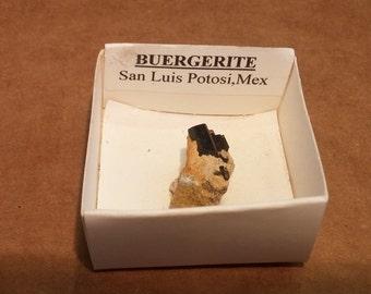 Beautiful Buergerite specimen