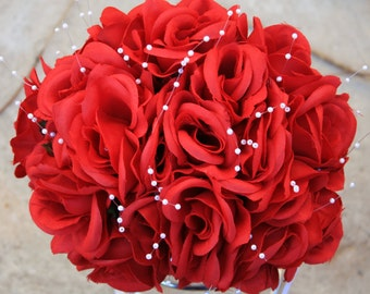 Red Rose Bouquet Ready to ship