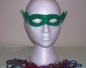 lightening child's felt mask with reinforced elastic band
