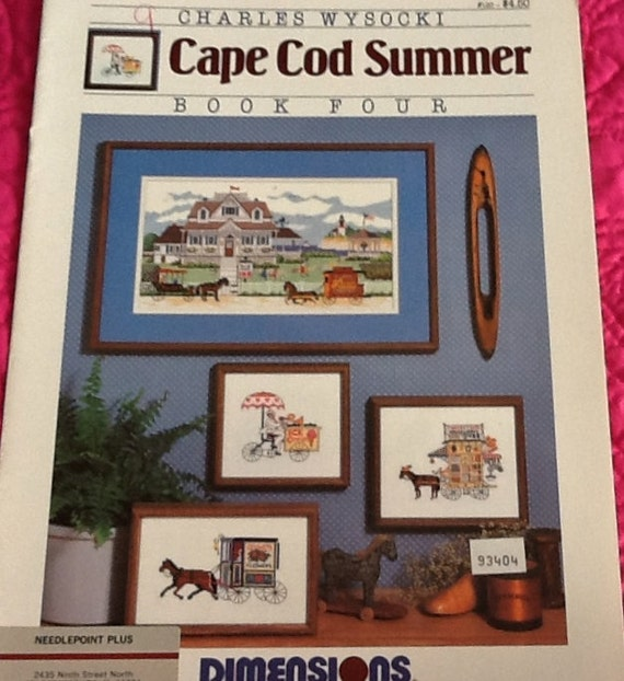 Dimensions Charles Wysocki Cape Cod Summer Counted Cross
