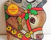 The Reindeer Book - A Golden Shape Book - 1965 - Vintage Christmas