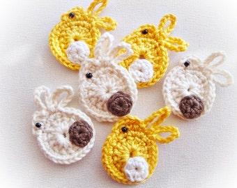 Crochet Rabbits ref: X157(6)