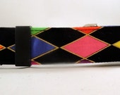 Dog Collar - Dog,  Martingale or Cat Collar - All Sizes -  Mardi Gras