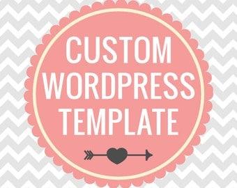 Custom Wordpress Theme  VIP Package