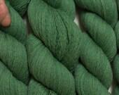 Blue Green Sage Recycled Merino Yarn, 1619 Yards Available, Lace Weight Green Merino Yarn