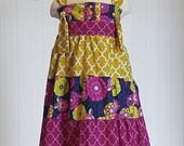 Knot Dress Sewing Pattern, Knot Dress Patter, Tiered Knot Dress Sewing Pattern, PDF Sewing Pattern, Childrens Sewing Pattern, Dress Patern