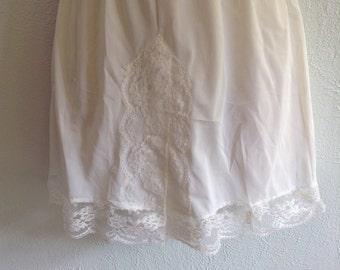Vintage, Olga Panti Slip, Tap Panties. Mini Slip.  All Nylon.  Size Small.  New Old Stock.  Lolita, Mad Men. Rockabilly, Bettie Page.