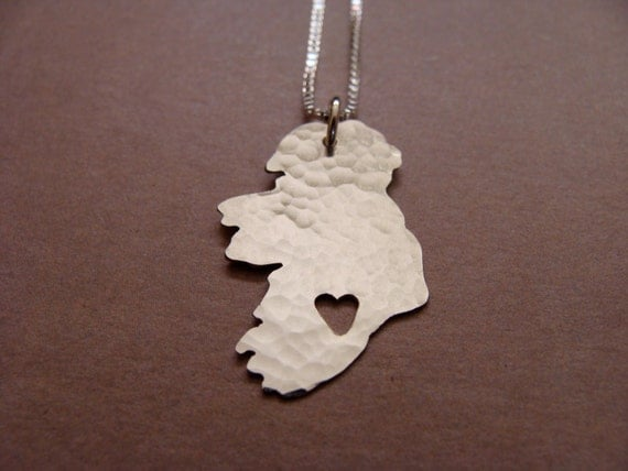 Ireland Necklace (sterling silver)