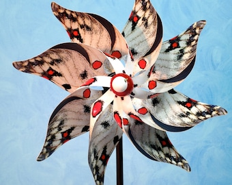 Parnassius Butterfly Pinwheel Spinner Whirligig Windmill