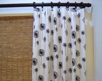 Custom Rod Pocket Curtain Panels Dandelion Curtains Dandelion  Panels 52x60 - 52x108