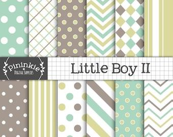 Baby Boy Digital Paper, Digital Download Paper, Scrapbook Paper Digital, Photo Background, Commercial Use