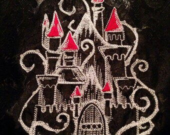 Fantasy,Goth, Vampire, Enchanted Castle Table Runner, Free Shipping!