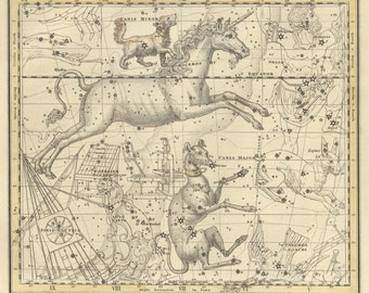 Astronomy star, Constellation galaxy, astrologer, wall decor, #88