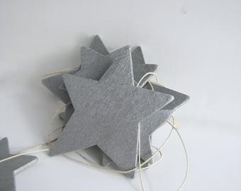 Star Garland twinkle little star nursery decor star nursery decor baby shower garland star christmas decoration