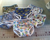 Cute Boy Prints Pull Up Training Pants, 3T with PUL, Sale 3/15.00
