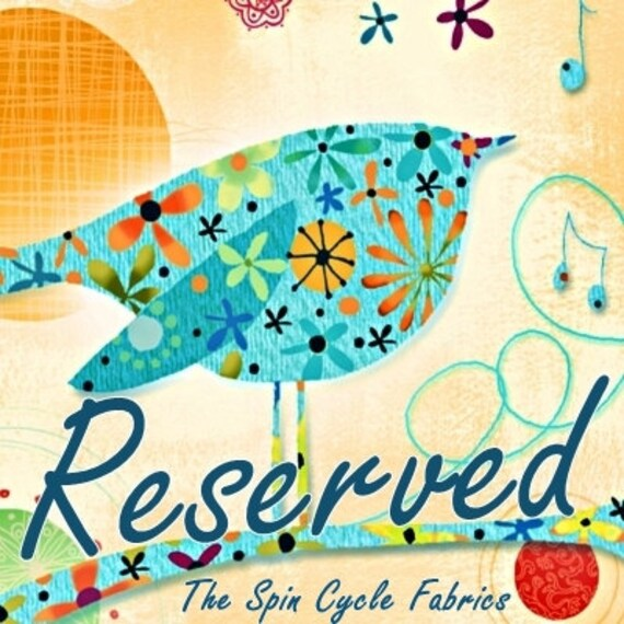 Reserved 2 Yards BIRDS & BEES Meteor Shower PWTP023-sunset Tula Pink Free Spirit Quilting Sewing