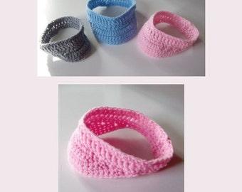 Crocheted Baby Visor MTO