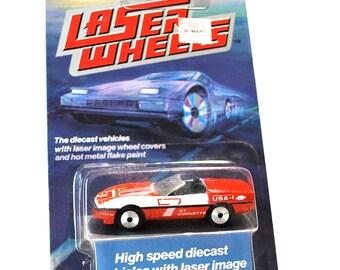 Matchbox Superfast Laser Corvette MOC 1986