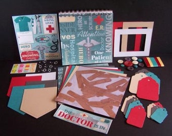 Doctor 6.5x6.5 Scrapbook Kit