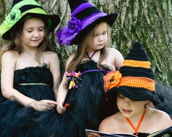 Witches Hat of Spells ((Crochet Pattern))