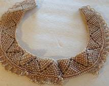 Pearl Collar Antique Vintage lot 615