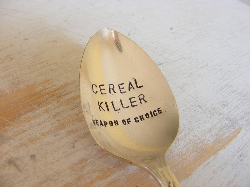 Cereal Killer Spoon Weapon