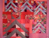 Teepee's patchwork quilt